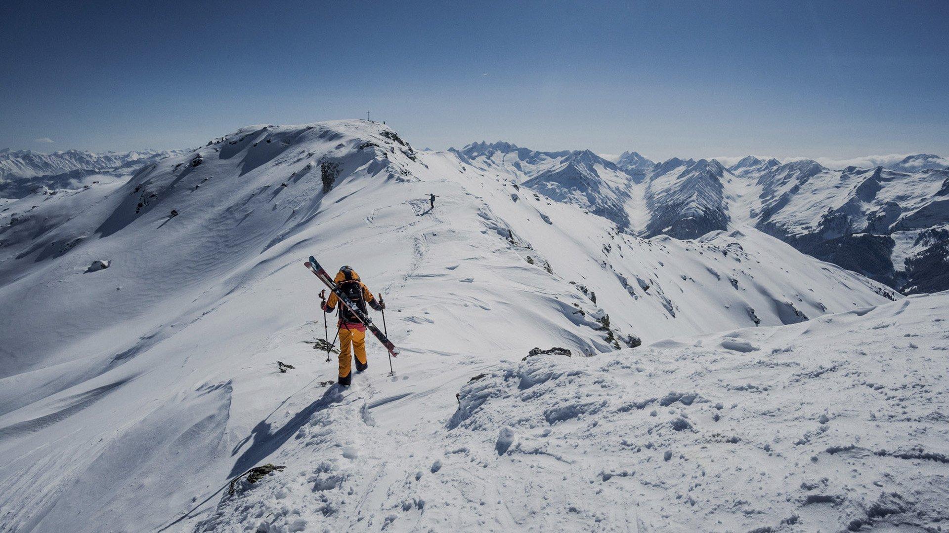 narty w austrii - freeride